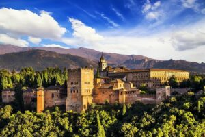 Ancient Arabic Fortress of Alhambra by Magical Spain