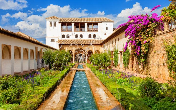 Large Garden in Alhambra by Magical Spain