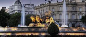 Cibeles Fountain in Madrid Spain by Magical Spain