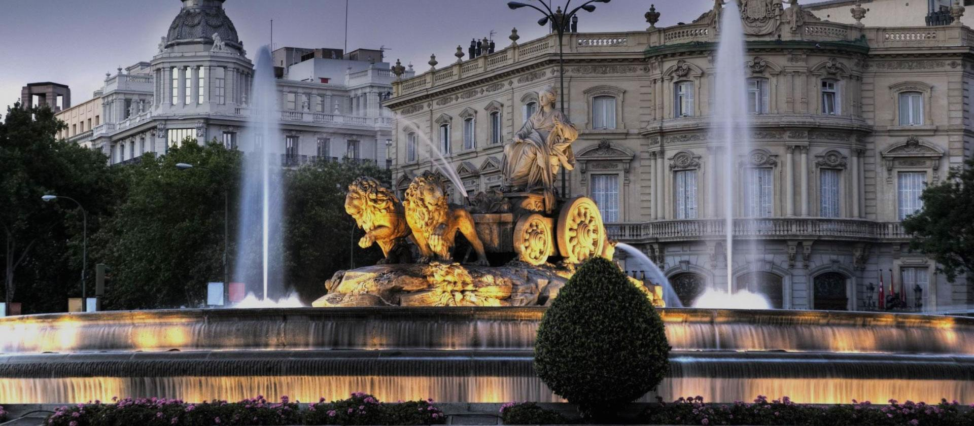 Cibeles Fountain in Madrid Spain by Magical Spain