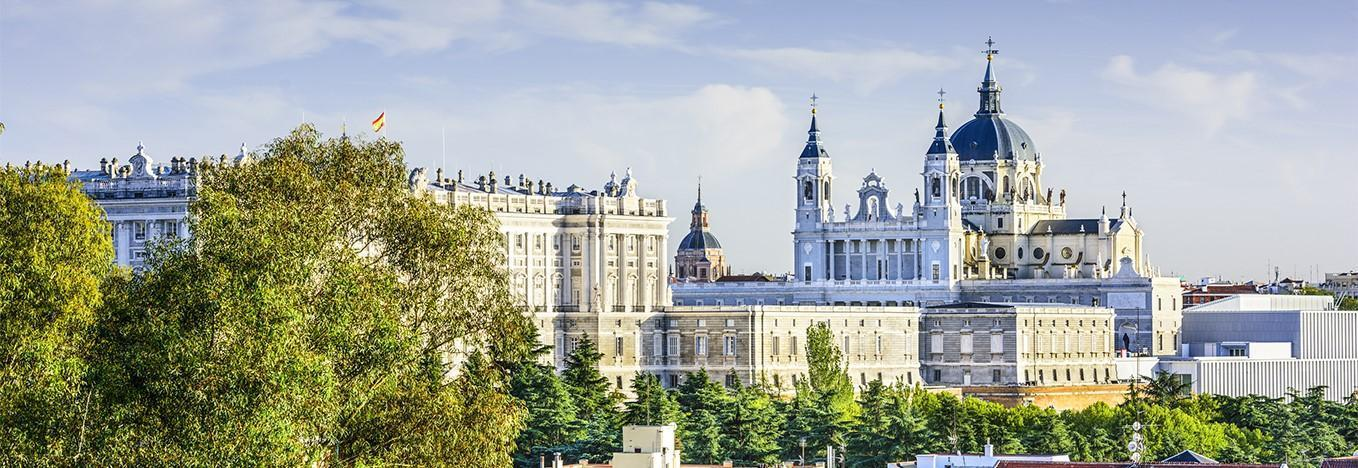 Almudena Cathedral of Madrid, Spain by Magical Spain