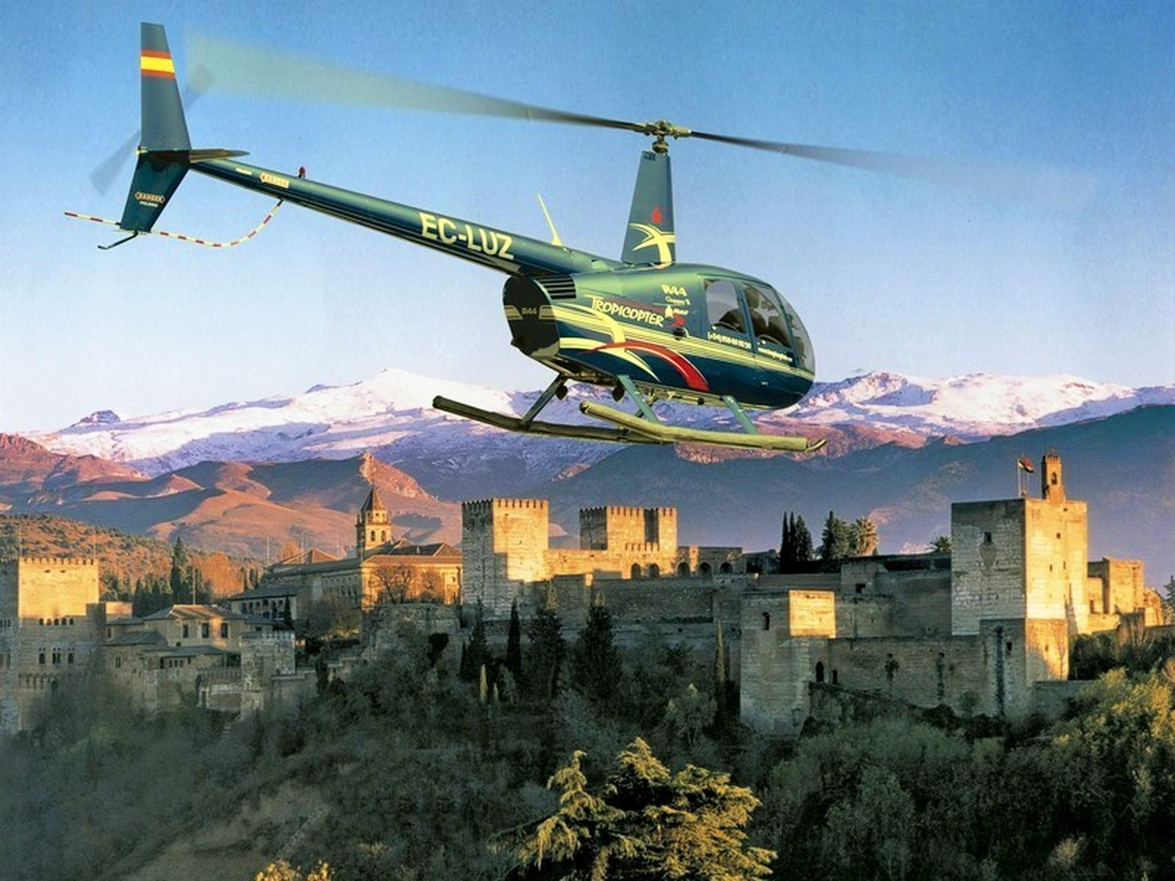 Spain VIP Helicopter Tours