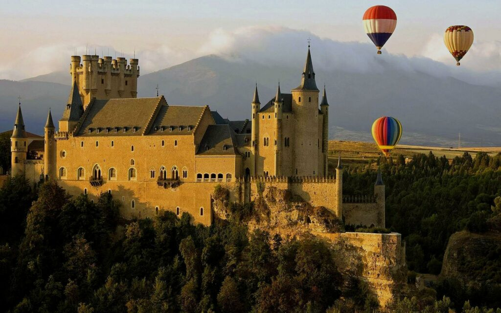 Balloon Experience near Spanish Castle by Magical-Spain